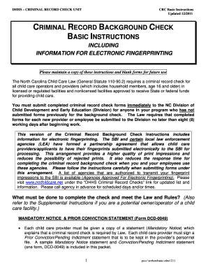 fillable online mandatory notice north carolina division