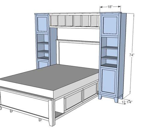 bedroom furniture plans free 1000 images about full size loft beds on pinterest loft