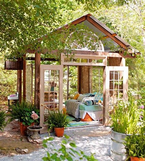 greenhouse bedroom where to organize an outdoor bedroom 15 ideas shelterness
