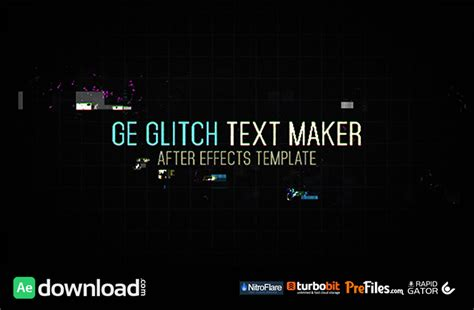 Modern Archives Page 106 Of 114 Free After Effects Template Videohive Projects Free After Effects Text Templates