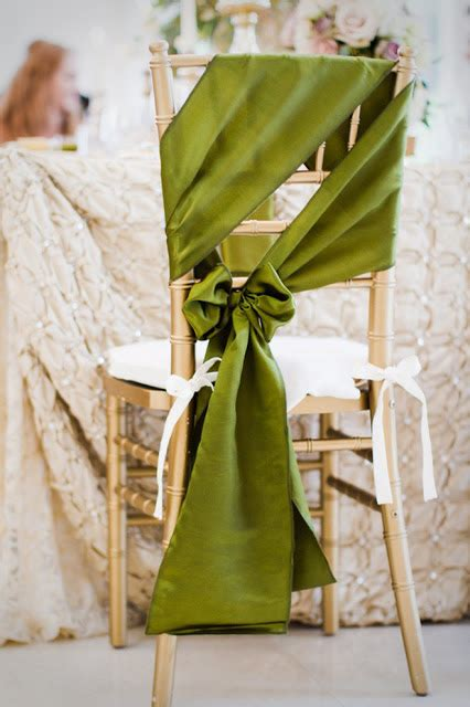Chair Sashes Wedding by Wishahmon Dressed Up Wedding Chairs