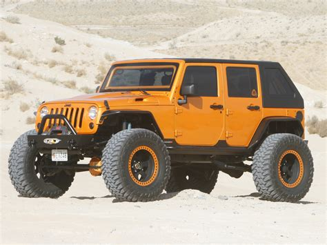 jeep wrangler orange and share