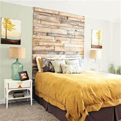 Wood Pallet Headboard 40 Recycled Diy Pallet Headboard Ideas 99 Pallets