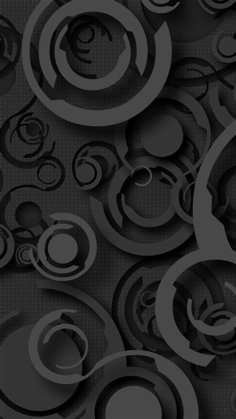 Vertu Signature Touch Wallpaper: Dark circle points Mobile