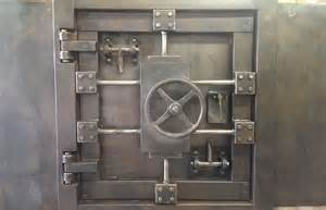 buy a made vintage vault door and wall custom made