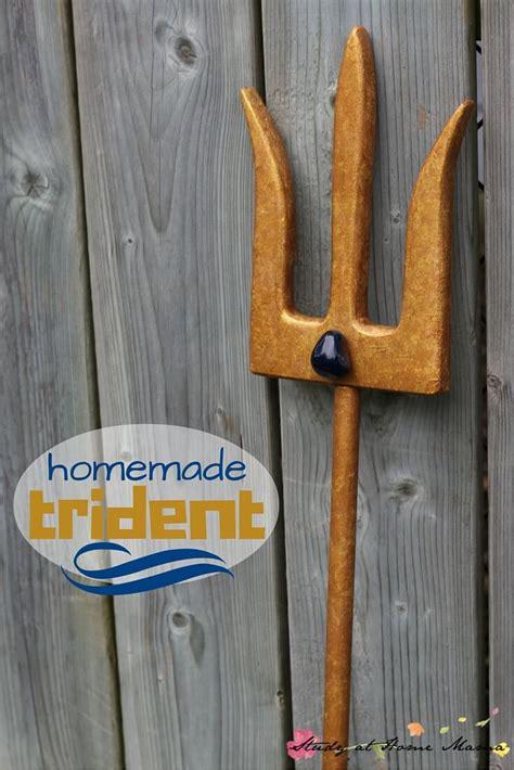 homemade trident inspired  mako mermaids sugar