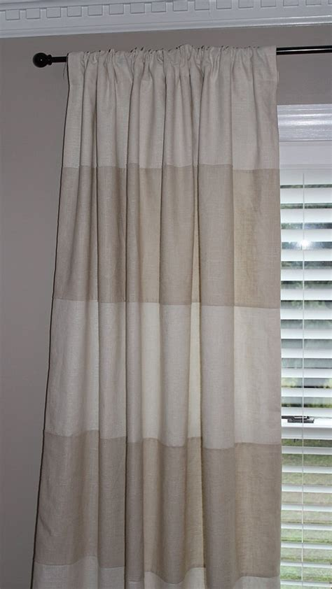 neutral striped curtains best 25 horizontal striped curtains ideas on pinterest