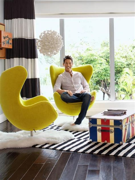 Log In To Win A Fab Yellow Marni Handbag by Tour The Modern Colorful Home Of David Bromstad Gardens