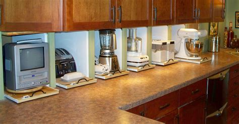 Kitchen Cabinets Appliance Garage Appliance Garages Own Your Of The Side Of The