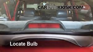 Toyota Corolla Brake Light Third Brake Light Bulb Change Toyota Corolla 1993 1997