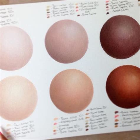 colored pencil skin tones 17 best how to create skin tones in coloured pencil images