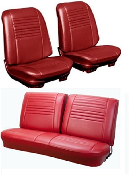 seat upholstery, imported, 1967 chevelle seat cover  front