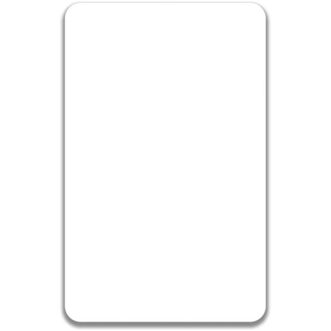 blank card template transparent vertical id badge print id badge