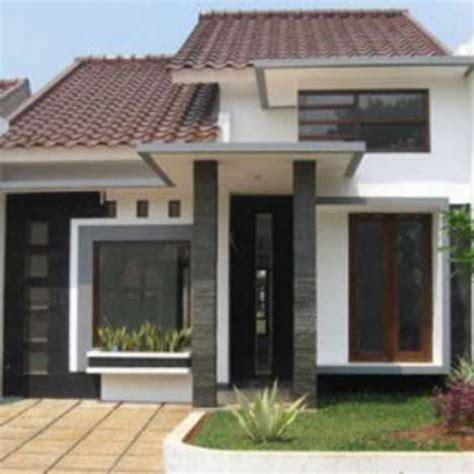 desain eksterior rumah minimalis sederhana 70 contoh desain rumah idaman cantik sederhana renovasi
