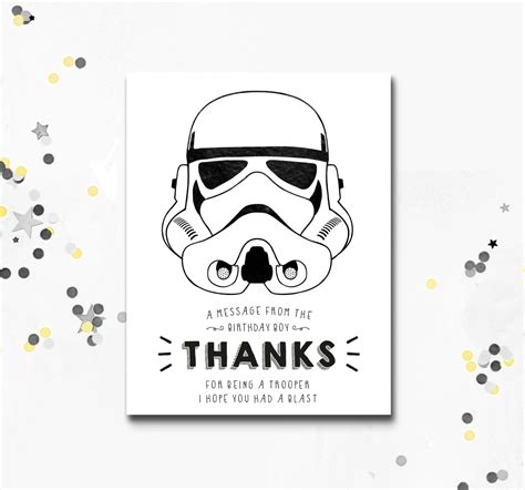 printable star wars thank you notes stormtrooper thank you card star wars printable card darth