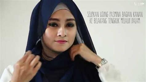 tutorial hijab turban kepang tanpa peniti hijab tutorial tanpa peniti youtube