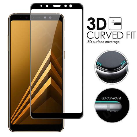 Tempered Glass Samsung A8 Plus 2018 Cover Anti Gores Kaca for samsung galaxy a8 a8 plus 2018 coverage tempered glass screen protector eur 1 13