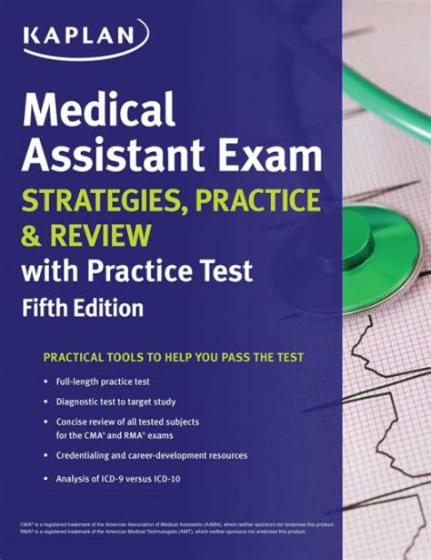 medical assistant exam strategies practice review with