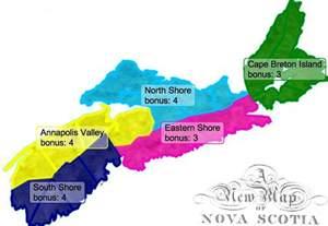 Map Of Nova Scotia Canada by Map Of Canada Regional City In The Wolrd Nova Scotia Map