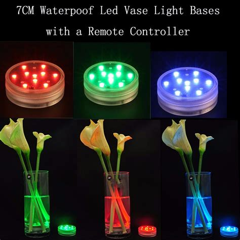 submersible led light centerpieces submersible led candle waterproof centerpieces led remote