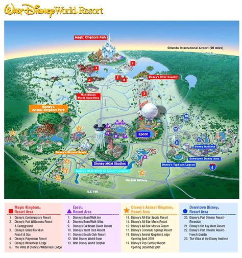 printable disney world maps parks walt disney world map world course map disney world maps