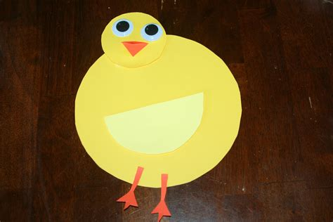 Paper Duck Craft - duck craft using paper