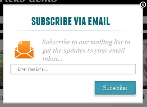 blogger email how to add pop up email subscription form for blogger