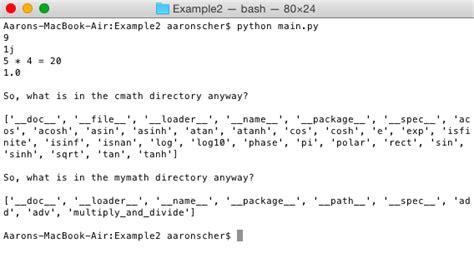 tutorialspoint python compiler aaronscher com organize your python project creating
