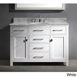 bathroom vanity sink 48 inches virtu usa caroline 48 inch single sink bathroom vanity set