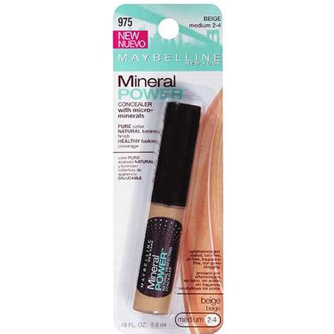 maybelline mineral power liquid concealer makeup