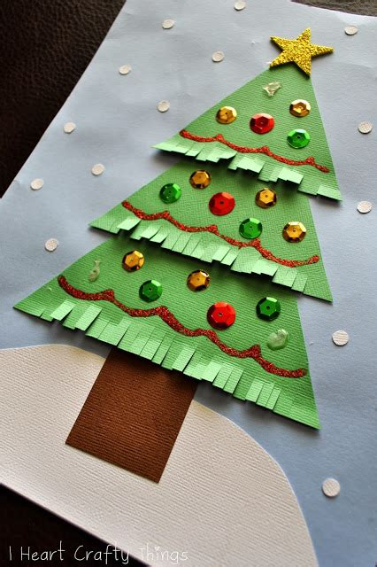 tree paper craft craft diy string trees tree
