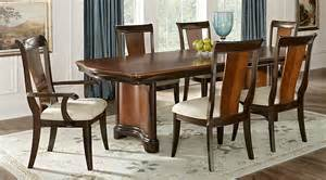 dining room sets 7 granby merlot 7 pc rectangle dining room dining room