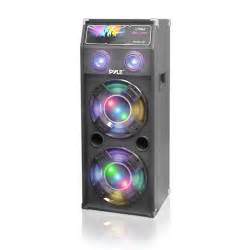 speaker with disco light pyle psufm1045a disco jam 1000 watt 2 way