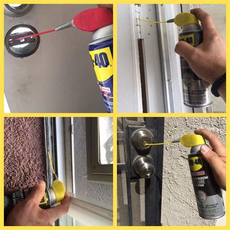 Wd40 On Glass Shower Doors Wd 40 Sliding Glass Door Jacobhursh
