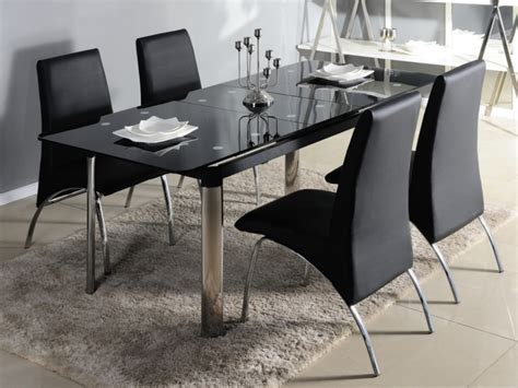 table salle a manger verre table manger en verre design pas cher