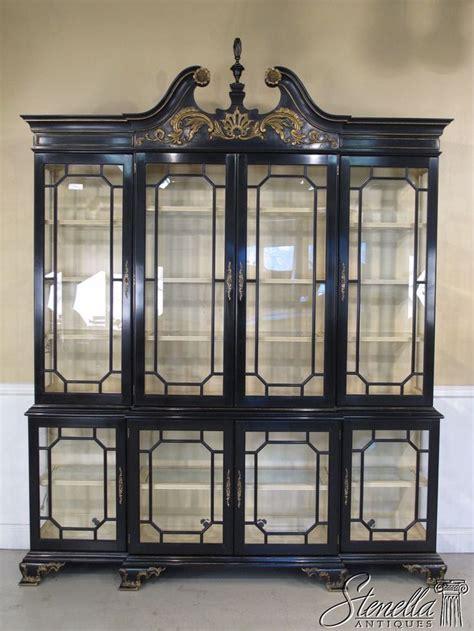 large curio display cabinet 33766 henkel harris large chippendale curio display
