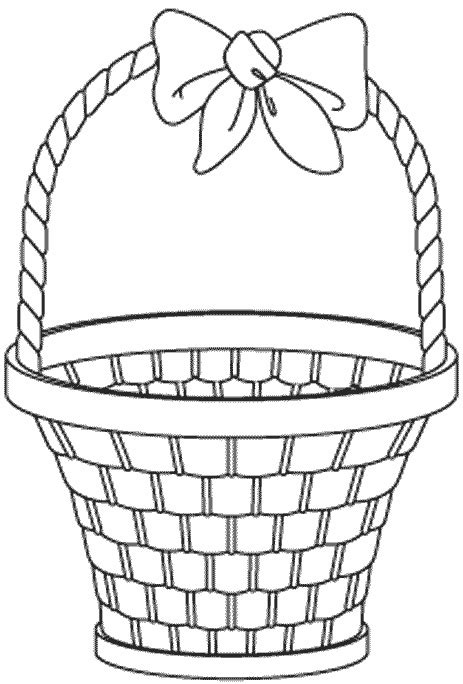 coloring pages for easter basket easypeasy lds general conference easter activities