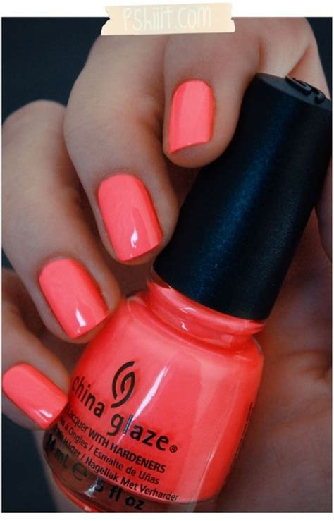coral color nails 25 best ideas about coral nail on