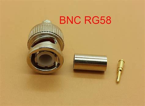 Jual Jual Connector Bnc jual rg58 bnc crimp connector khusus kabel rg58