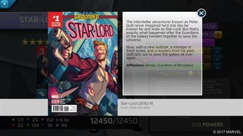 guardians   galaxy arrive  marvel puzzle quest starting  star lord gaming trend