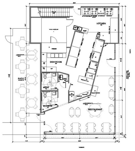 rest floor plan designing a restaurant floor plan home design and decor