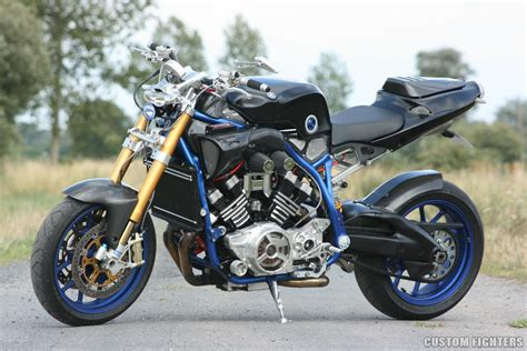 Suzuki V Max Yamaha Vmax Streetfighter Way2speed