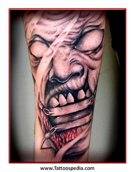 tattoos stencils for men the gallery for gt evil stencils for