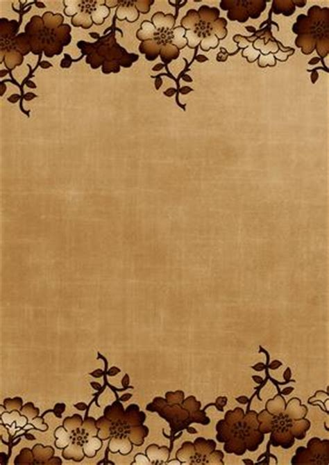 background design a4 paper vintage tea floral metallic edge a4 backing paper