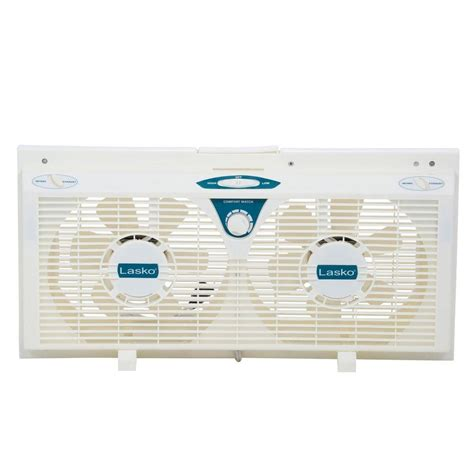 lasko fans home depot lasko 8 in electrically reversible window fan with