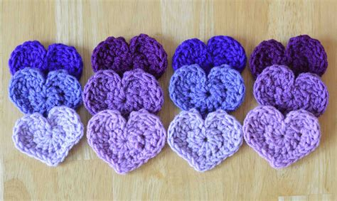 crochet hearts crochet pattern