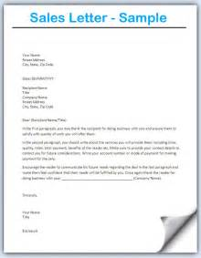 letter template sales letter template writing professional letters