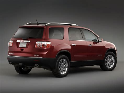 how to learn all about cars 2009 gmc savana 1500 electronic valve timing gmc acadia specs 2007 2008 2009 2010 2011 2012 autoevolution