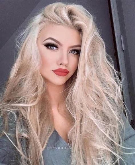 blonde hairstyles with makeup makeup suitable for blonde girls miladies net
