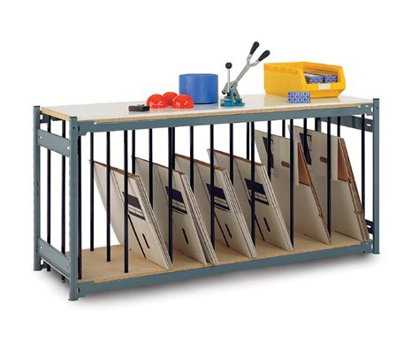 Divider Rack by Heavy Duty Work Bench With Lower Divider Rack